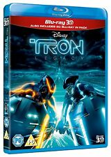 Tron Legacy in 3D (3D + 2D Blu-ray, 2 Discs, Region Free) *New/Sealed*