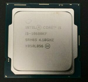 Intel Core i5-10600KF Processor 4.8 GHz 6 Cores Socket LGA1200 CM8070104282136