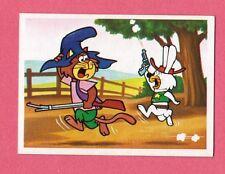 Punkin Puss & Ricochet Rabbit Hanna Barbera Scarce 1981 Cartoon Card from Spain