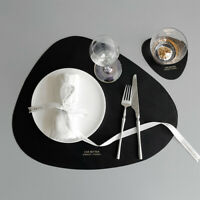 Table Placemats Set Washable Table mats Kitchen Table Insulation Coaster Pads