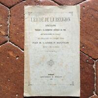 Escolar de La Religion Voz La Tiempo Solemne Las Precio Chailly 1885