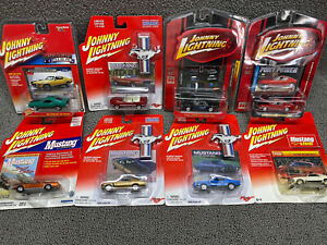Johnny Lightning ~ Ford Mustang ~ Lot Of 8 ~ Premium Limited Edition