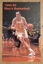 Iowa State Cyclones 1994-95 Basketball Pocket Schedule