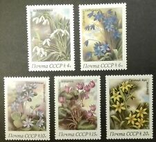 CCCP-USSR STAMPS MNH - Spring Flowers, 1983, **