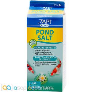 API Pond Salt 4.4 lbs Promotes Koi Fish Health Improves Gill Function