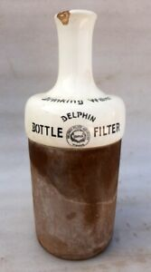 Antique Dolphin Filter Company Stone Ceramic Drinking Water Bottle Filter Vienna