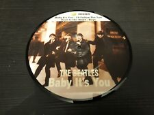 "BEATLES baby it's you EP UK picture disc 45rpm 7"" rare"