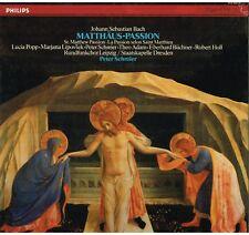 Bach: Passione San Matteo / Peter Schreier, Popp, Lipovsek, Adam - LP