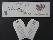 Numeri di tavola di nozze-tavolo fai da te le carte Piano-intestazione tabella