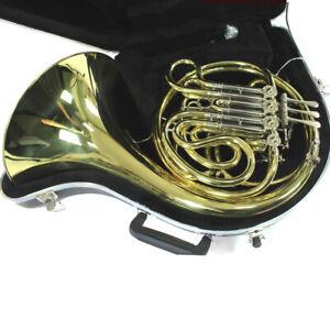 C.G. Conn Model 11DE Professional Double French Horn MINT CONDITION