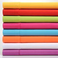 Premier Colorful Soft Super Bright 4 Piece Sheet Set - Deep Pocket & Hypoallerge