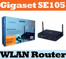 SIEMENS Gigaset SE105 dsl/cable Wireless Lan Router NEU