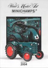 Minichamps PMA Model 2004 New Models Range Catalogue A4 Ed. 3 - Colour 15 Pages