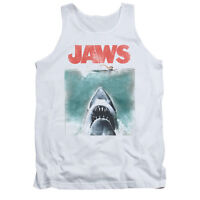 JAWS VINTAGE POSTER Licensed Adult Men's Graphic Tank Top Sleeveless Tee SM-2XL