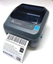 BRAND NEW Zebra GK420d Label Thermal Barcode Desktop Printer USB Royal Mail ETC