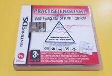 Practise English! Per l'inglese di tutti i giorni GIOCO NINTENDO DS VERSIONE ITA
