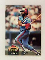 Ivan Calderon Montreal Expos 1992 Topps Baseball Card 73