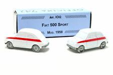 # 1:76 FIAT 500 SPORT 1958 OFFICINA 942 (ART. 1012) DIECAST MIB #