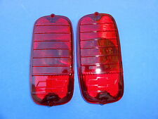 1964-1965-1966 CHEVROLET VAN TAILLIGHT LENS WITH BOWTIE-PAIR-NEW