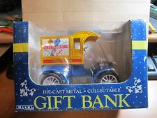 ERTL Ford Die Cast Metal Collectable Gift Bank Congratulations