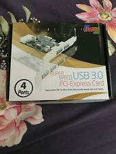 SYBA 4-Port SuperSpeed USB 3.0 PCI-Express Card