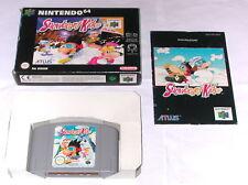 "Spiel: SNOWBOARD KIDS "" KOMPLETT OVP + ANLEITUNG N64 Nintendo 64"