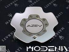 AZEV Felge Deckel Felgendeckel Wheel Center Cap Silver Custom Z0124 verkratzt