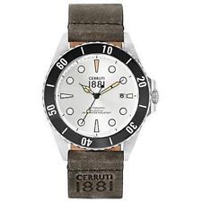 Cerruti 1881 Men's Manarola Stainless Steel Watch - CRA164STB04TN