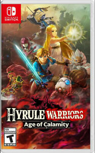 Hyrule Warriors: Age of Calamity - Nintendo Switch [BRAND NEW]0