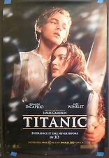 Titanic (1997) Original 27x40 Movie Poster (Leonardo DiCaprio)