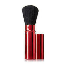 Signature Club A by Adrienne Red Metalized Rectractable Brush AS SEEN ON HSN