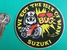 TT retro Suzuki 70s 80s TT GT X7 GS XR isle of man sticker decal
