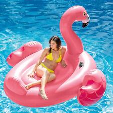 Intex 56288 Mega Flamingo Rideable Inflatable Island Pool Beach 218 X211 X136 Cm