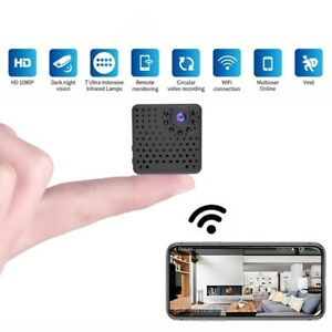 1080P Mini WiFi Camera Home Security Camcorder IR Night Vision Monitor Spy Cam