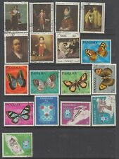 Panama 1967-1968 a mint and used collection mostly sound