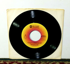 """Don Williams, I've Got A Winner In You, 1977 7"""" Single, Country Legend, NM Vinyl"""