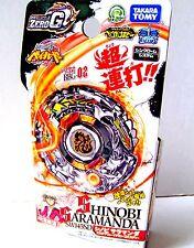 Takara Tomy BEYBLADE Booster Zero G BBG 02 Shinobi Saramanda SW145SD