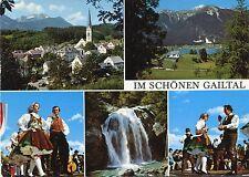 Alte Postkarte - Im schönen Gailtal