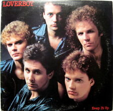Loverboy: Keep It Up with Promo Cover CBS # QC 38703 NM with Lyrics Sleeve