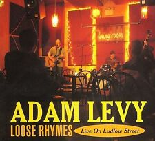 Adam Levy Loose Rhymes Live On Ludlow Street 8 song 2006 cd NEW!
