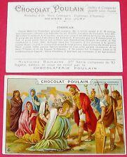 CHROMO POULAIN 1905-1910 HISTOIRE ROMAINE 3ème SERIE CORIOLAN