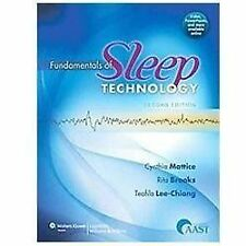 Fundamentals of Sleep Technology by Butkov, Cynthia Mattice, Rita Brooks and...