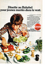 PUBLICITE   1971   BABYBEL  fromage