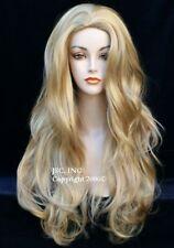 Luscious Long wig Layered Wavy Blonde Mix Wig WAAH 24-613