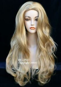Luscious Long wig Layered Wavy Blonde Mix Wig WAAH 24-613