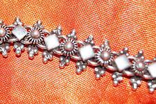 Echte Edelmetall-Armbänder ohne Steine im Schildarmband-Stil aus Sterlingsilber für Herren