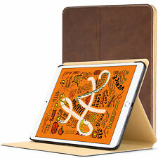 Apple iPad Mini 5 Smart Cover | Protective Luxury Case Cover Stand | Brown