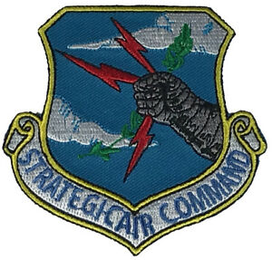 USAF AIR FORCE STRATEGIC AIR COMMAND SAC RECONNAISSANCE PATCH