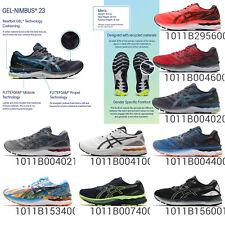 Asics GEL-NIMBUS 23 мужчин подушка гель flytefoam дорога, беговая обувь, кроссовки, выбери 1