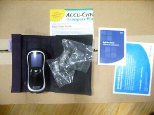 Accu-Chek Compact Plus Blood TEST UNIT
